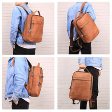 Load image into Gallery viewer, JOYIR Genuine Leather Retro Backpack