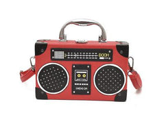 Load image into Gallery viewer, Boom Box Clutch and Shoulder Bag