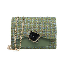 Load image into Gallery viewer, Woolen Patchwork Hand Bag