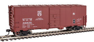 Walthers 40' AAR 1948 Boxcar National Railways of Mexico NdeM