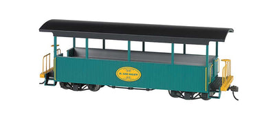 Bachmann Wood Excursion Car H. Lee Riley