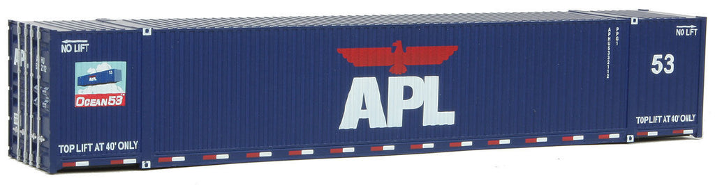 HO Container 53 Fuß American President Lines APL