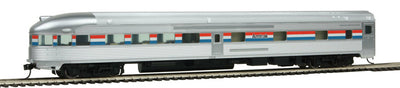 Walthers 85' Budd Observation Car Amtrak