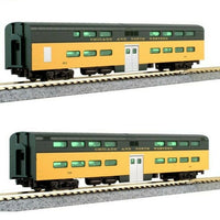 Kato Set Chicago & North Western Lok + 5 Wagen