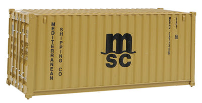 H0 Container 20 Fuß Mediterranean Shipping Co. MSC