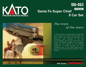 Kato Personenwagenset Super Chief Santa Fe