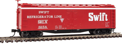 Walthers Early Reefer Swift Refrigerator Line SRLX