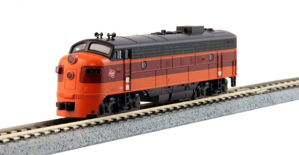 Kato Diesellok EMD FP7A Milwaukee Road Digital