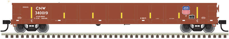 Atlas Evans 52' Gondola Union Pacific CNW