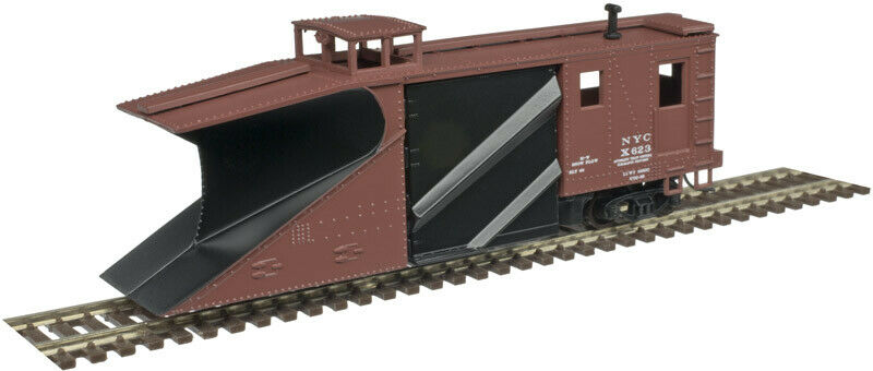 Atlas Russell Snow Plow New York Central