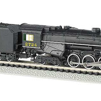 Bachmann Dampflok  2-8-4  Chesapeake & Ohio mit Sound