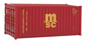 H0 Container 20 Fuß Mediterranean Shipping Co MSC