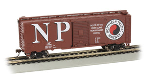 Bachmann 40' Steel Boxcar Northern Pacific
