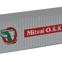 Spur N Container 40 Fuß Mitsui OSK