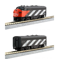 Kato Diesellokset EMD F7A + B Canadian National Digital