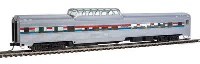 Walthers 85' Budd Dome Coach Amtrak