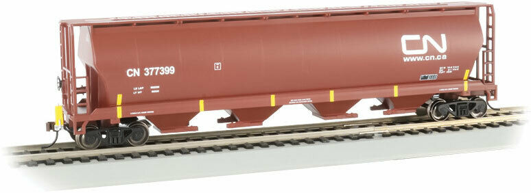 Bachmann Grain Hopper Canadian National mit FRED