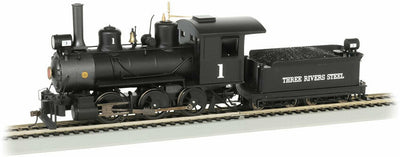 Dampflok 0-6-0 Three Rivers Steel digital