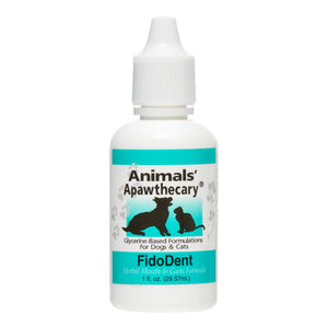 Animals' Apawthecary Tinctures Fido Dent Mouth Formula