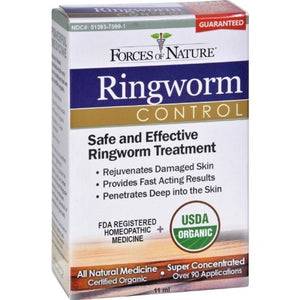 Forces of Nature Ringworm Control Topical Drops, 0.37 Oz
