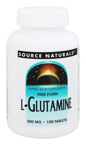 Source Naturals Source Naturals  L-Glutamine, 100 ea