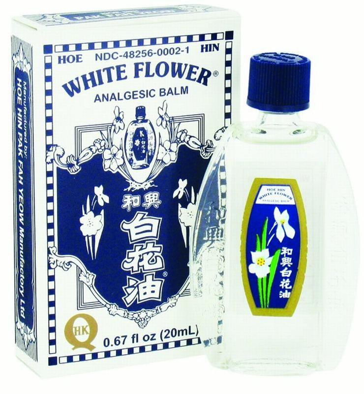 White Flower Analgesic Balm, 0.67 Oz