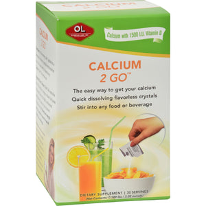 Olympian Labs Calcium 2 Go - 30 Packets
