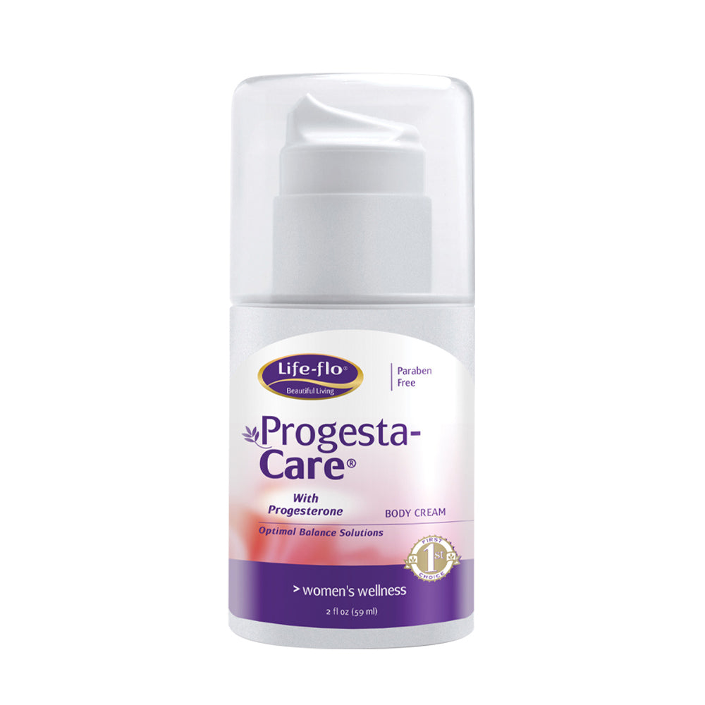 Life-Flo Progesta-Care w/ USP Progesterone from Wild Yam | Body Cream for a Woman's Optimal Balance | No Fragrance