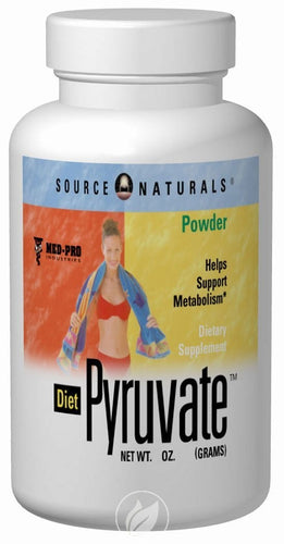 SOURCE NATURALS - Diet Pyruvate™ 3 oz. Powder 3 POWDER