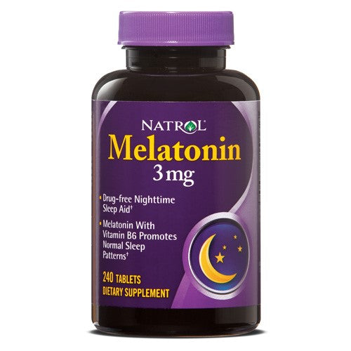 Natrol Melatonin 3mg Tablets, 240 Ct