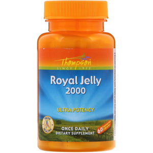 Thompson  Royal Jelly  2 000 mg  60 Vegetarian Capsules
