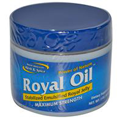 North American Herb And Spice Royal Oil For Maximum Energy And Strength - 1 Oz