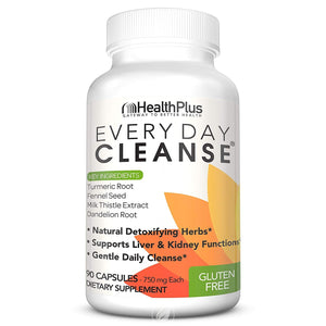 HEALTH PLUS Every Day Cleanse 90 Caps 90 CAPSULE