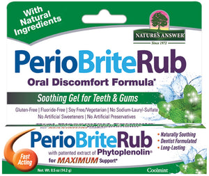 Nature's Answer  Periobrite Rub Topical  0.5 oz