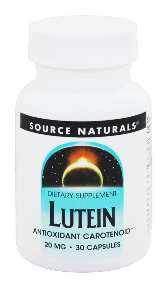 Source Naturals Source Naturals  Lutein, 30 ea