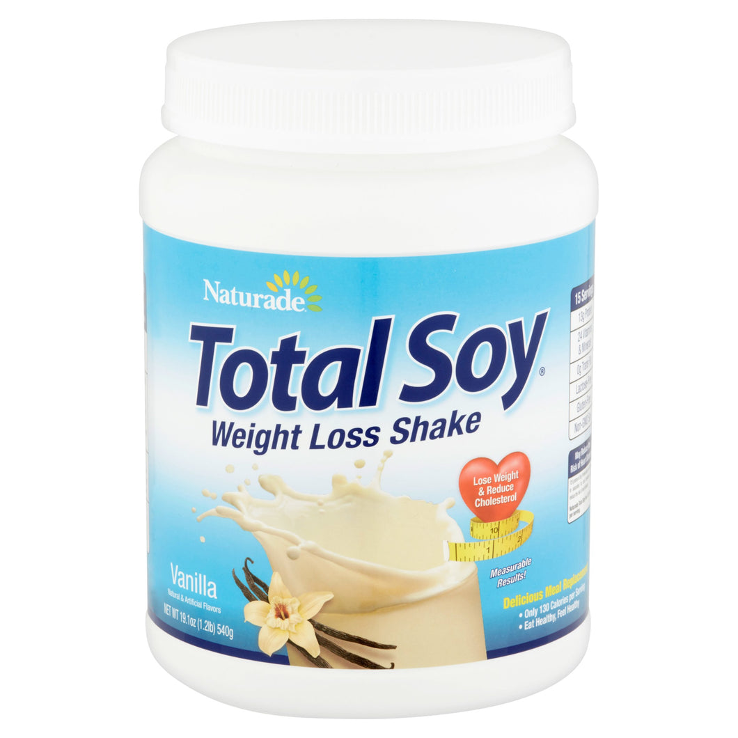 Naturade Total Soy Vanilla Shake, 19.1 oz