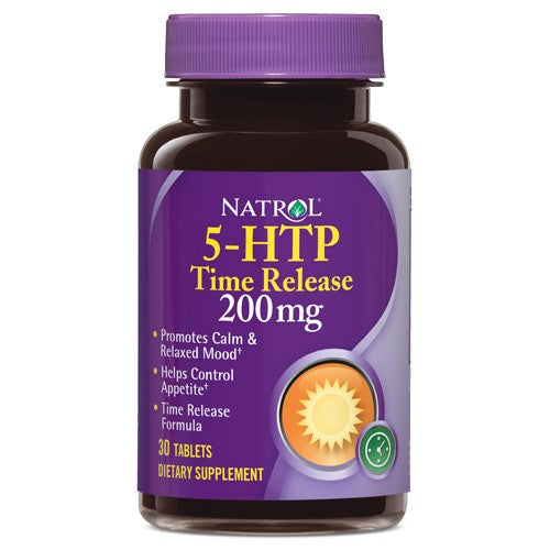 Natrol? 5-HTP 200mg Time Release 30 Tablets