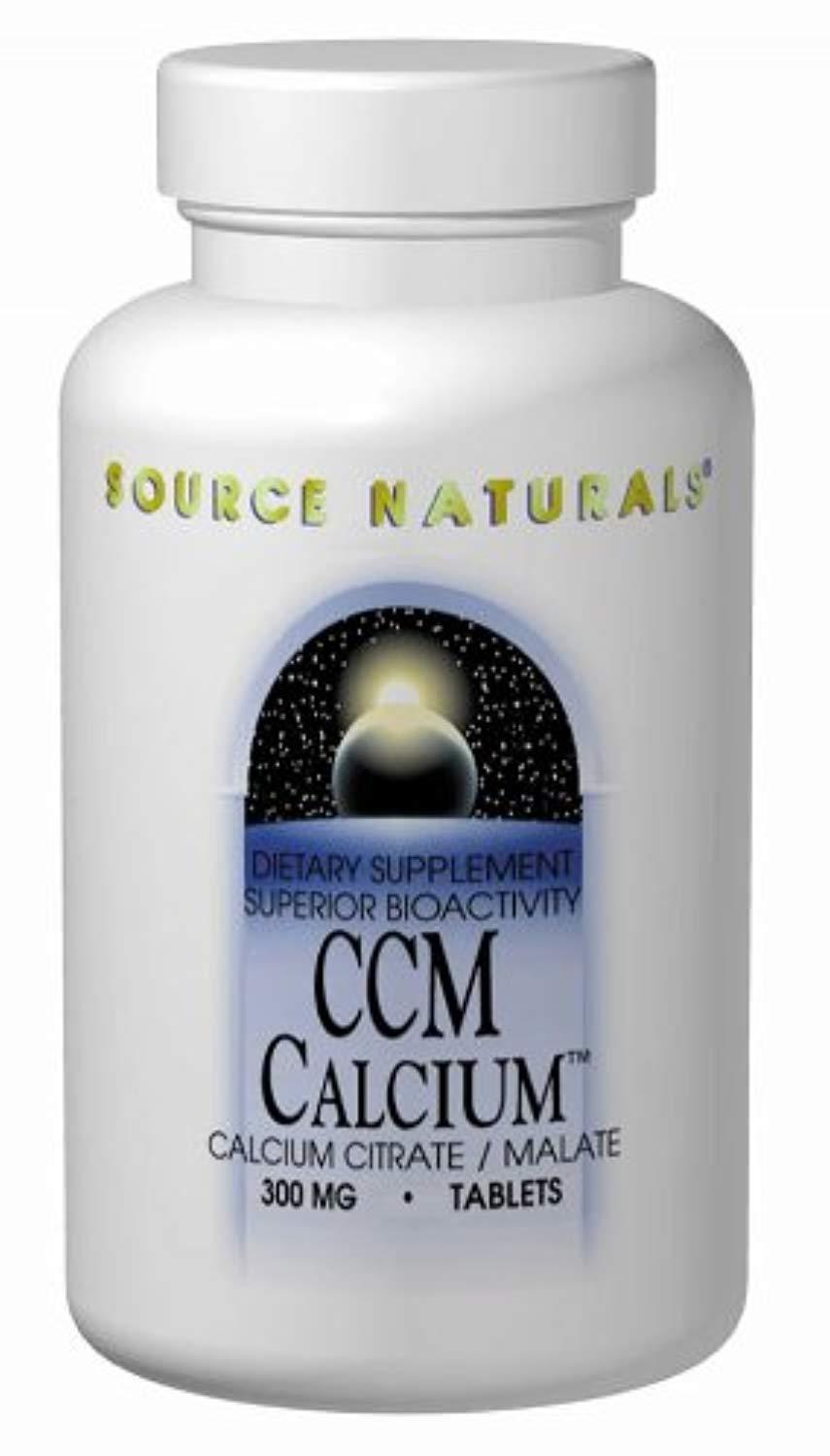 CCM Calcium Citrate/Malate Source Naturals, Inc. 60 Tabs