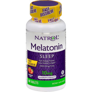 Natrol Melatonin - 10 mg - 60 Tablets Sleep Aids