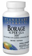 Planetary Herbals Borage Super GLA 300 Softgels, 60 Count