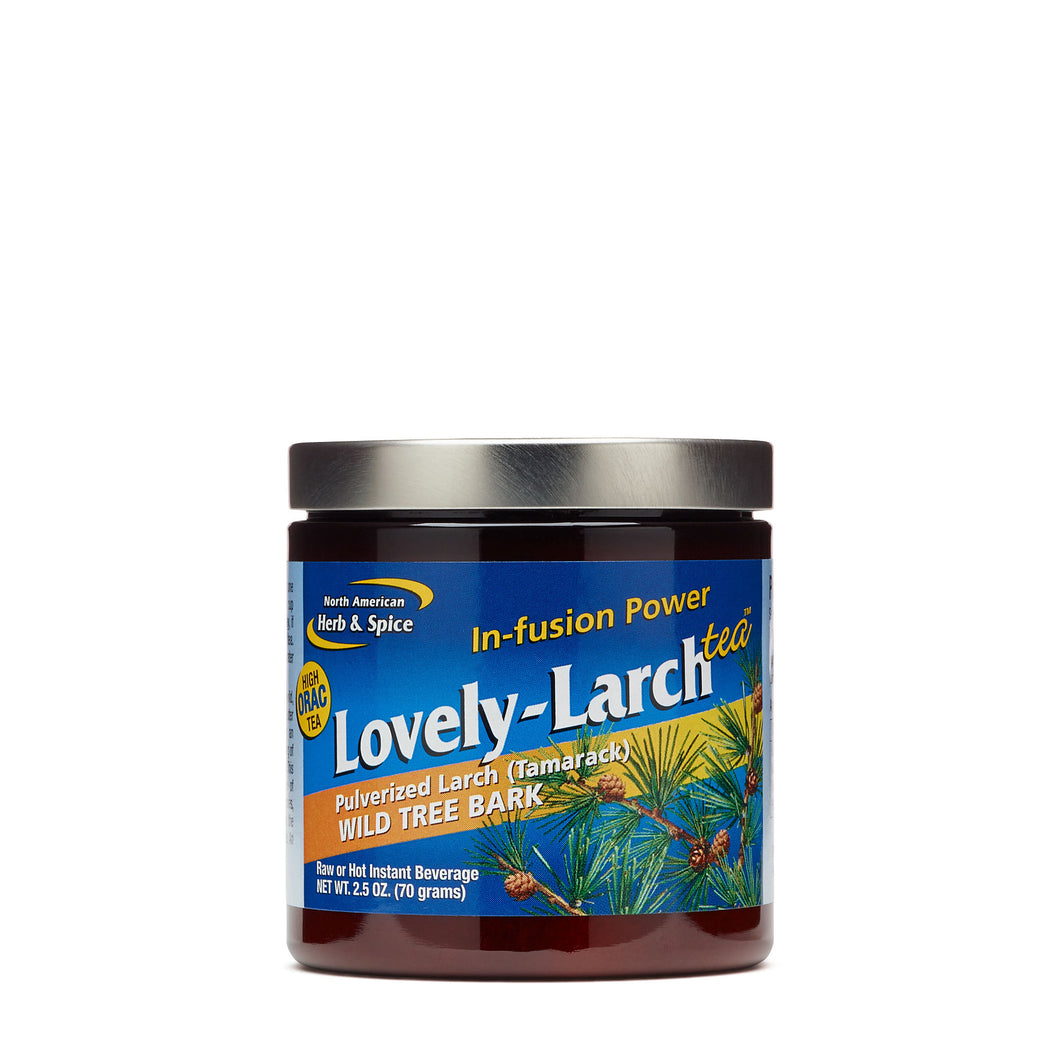 North American Herb and Spice Mineral Supplement Tea, Lovely Larch, 2.5 Ounce