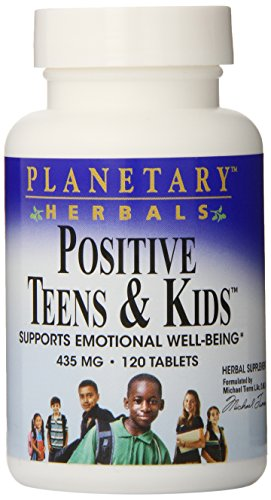 Planetary Herbals Positive Teens & Kids, 435 Mg., 120 Tablets