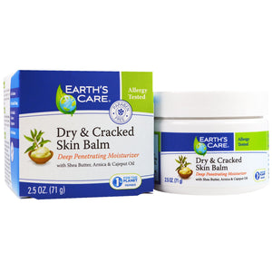 Earth s Care  Dry   Cracked Skin Balm  2 5 oz  71 g