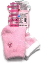 Load image into Gallery viewer, Aloe Moisture Socks by Earth Therapeutics Pink Plaid - Infused with Natural Aloe Vera & Vitamin E - 2 Pack