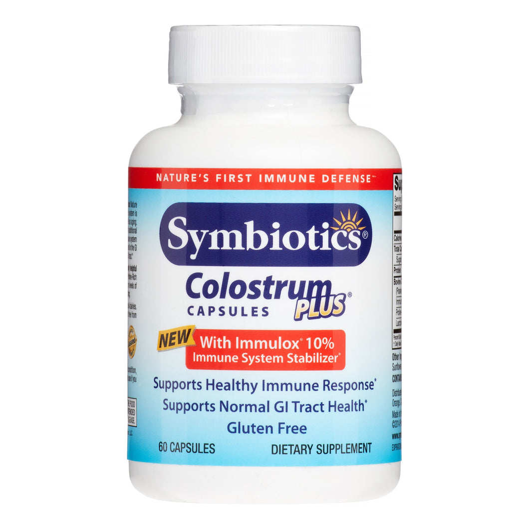 Symbiotics Colostrum Plus, 60 Veg Capsules