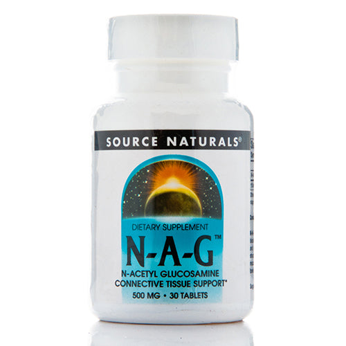 N-Acetyl Glucosamine 500 mg - 30 Tablets by Source Naturals
