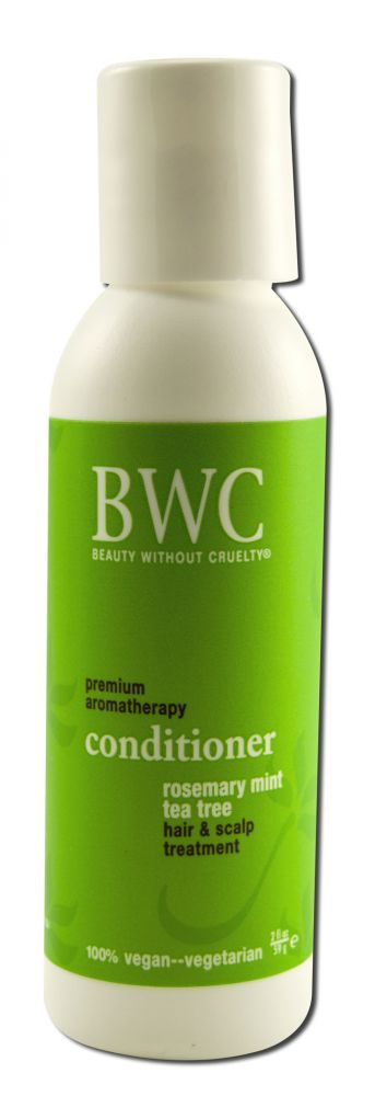 Beauty Without Cruelty - Trial Size, Rosemary/Tea Tree/Mint Conditioner