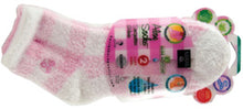 Load image into Gallery viewer, Aloe Moisture Socks by Earth Therapeutics, 2 Pack: Pink Plaid, Infused with Natural Aloe Vera & Vitamin E