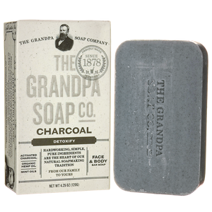 Grandpa Soap Co. Charcoal Soap 4.25 oz Bar(S)