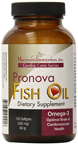 Harmonic Innerprizes Pronova Fish Oil Softgel, 120 Count